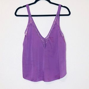 Intimately Free People Purple Lace Cami